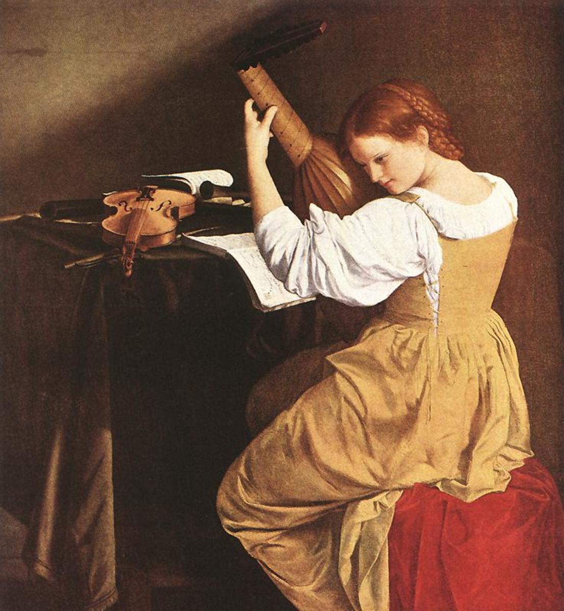 Painting of Francesca Caccini