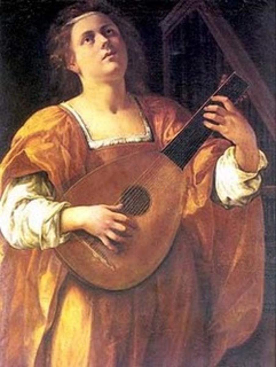 Painting of Maddalena Casulana