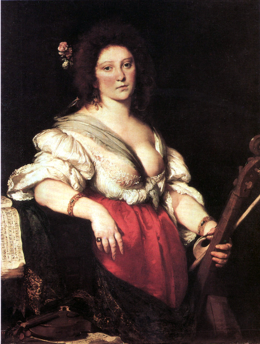 Painting of Barbara Strozzi