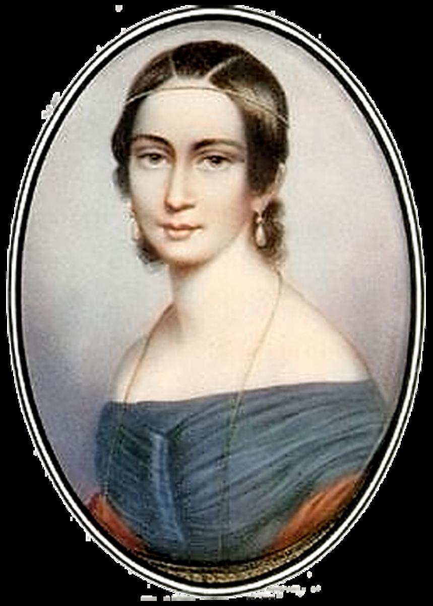Painting of Clara Schumann