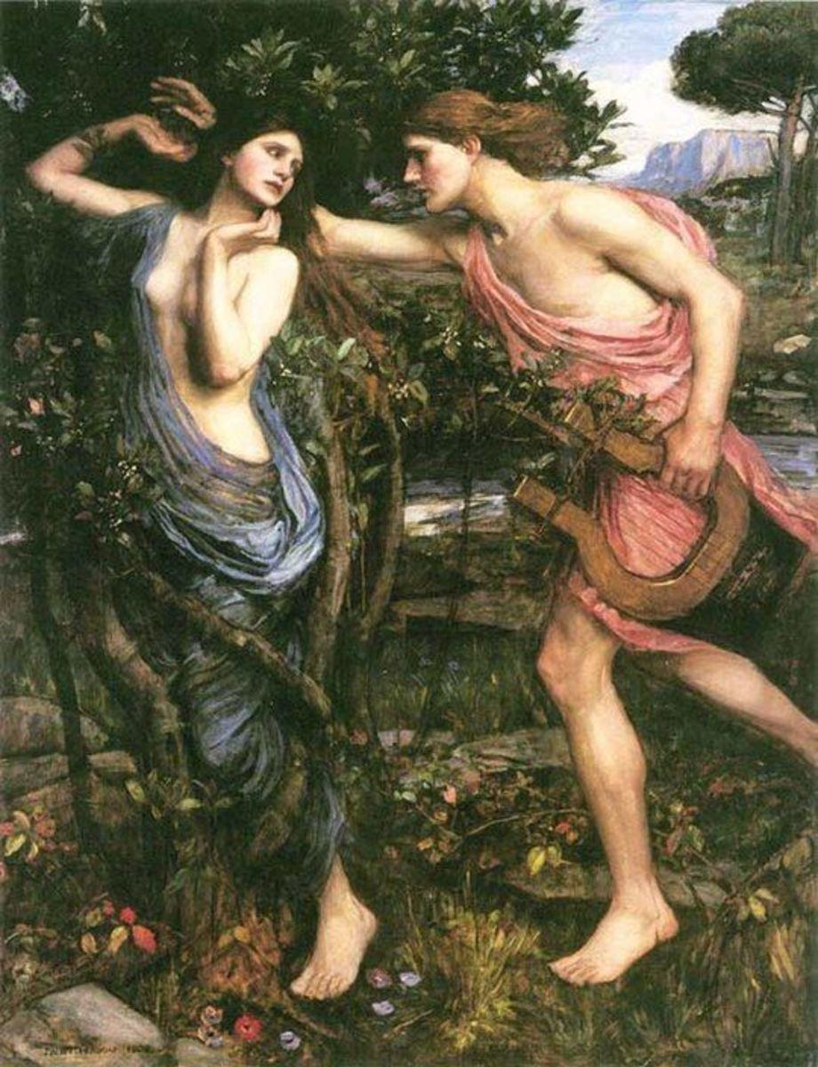 """Apollo and Daphne"""