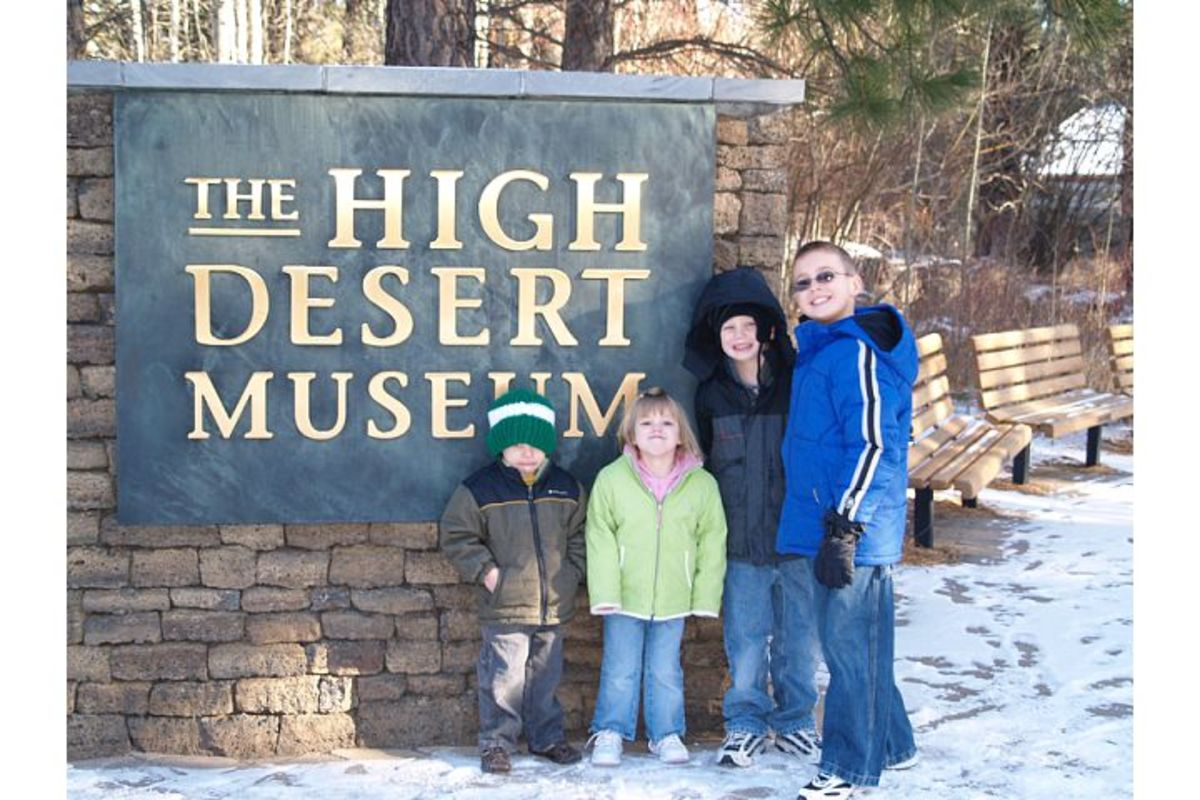 The High Desert Museum in Central Oregon