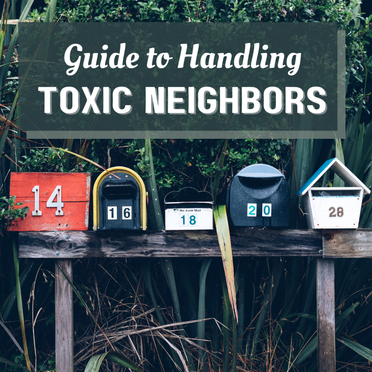 Are you dealing with toxic neighbors? Read on to find out how you can rise above and beyond their negativity!