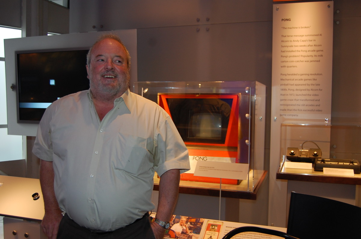 Al Alcorn, the original engineer for Atari who designed the video game classic, Pong.