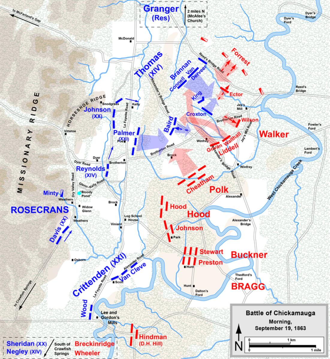 Morning of September 19th, 1863