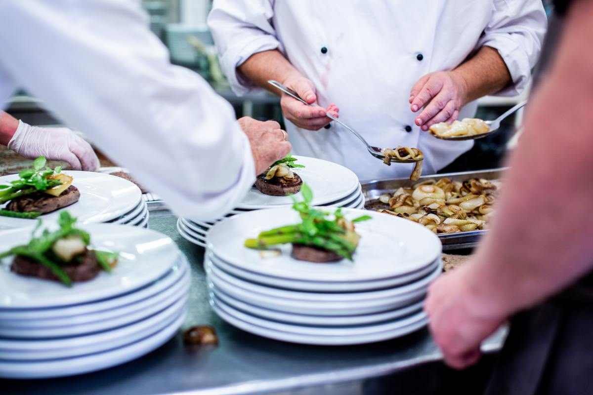 """With cooks often working on multiple orders simultaneously, leaders may use the term """"all day"""" to communicate the total number of each dish needed to fulfill all active orders."""