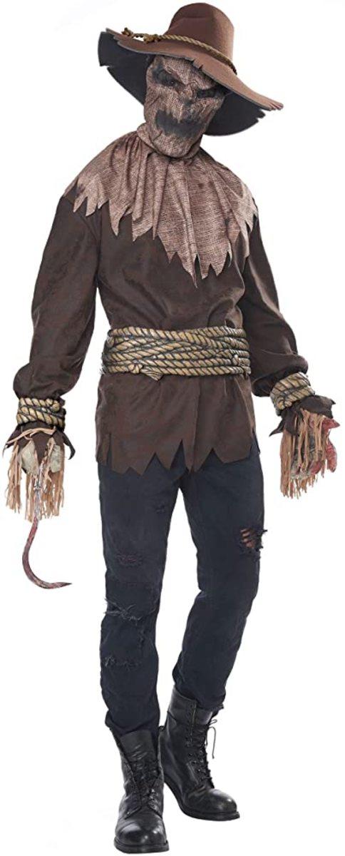 Men's adult killer in the cornfield costume.