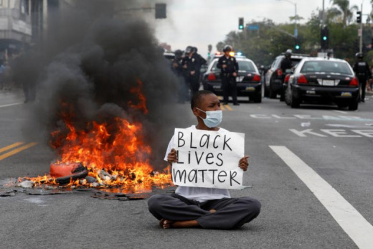 Today in America and other parts of the world, the black people say, BLACK LIVES MATTER, as if other people count for nothing and can be killed, when all lives must have the same value. So, I believe that what is happening is out of control.