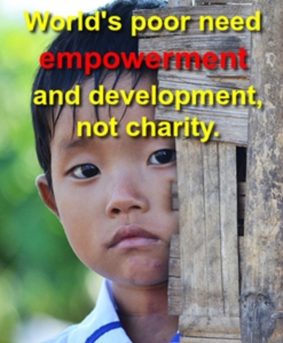 Empowerment - The Ideal Way to Eradicate Poverty