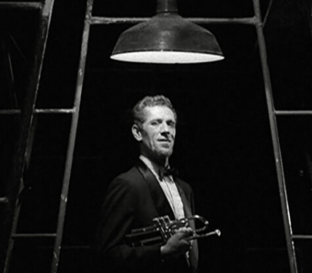 """John Anderson in the role of the Archangel Gabriel in the classic Twilight Zone episode """"Passage For Trumpet."""""""