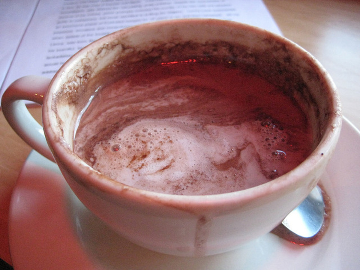 Hot cocoa is a great romantic treat for you and your partner!