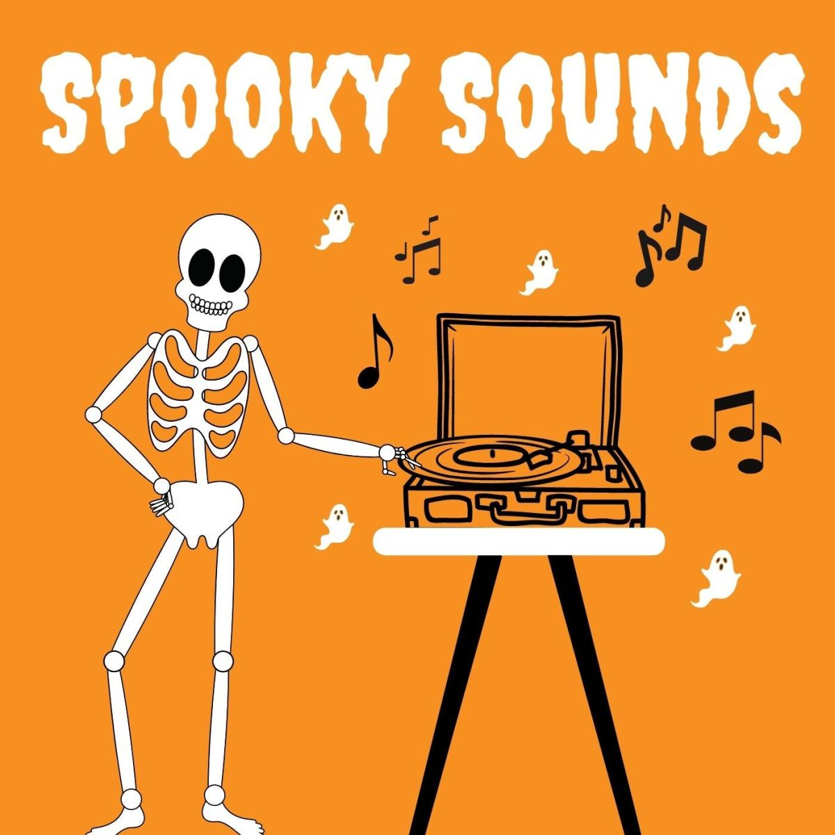 Get the spooky tunes flowing!