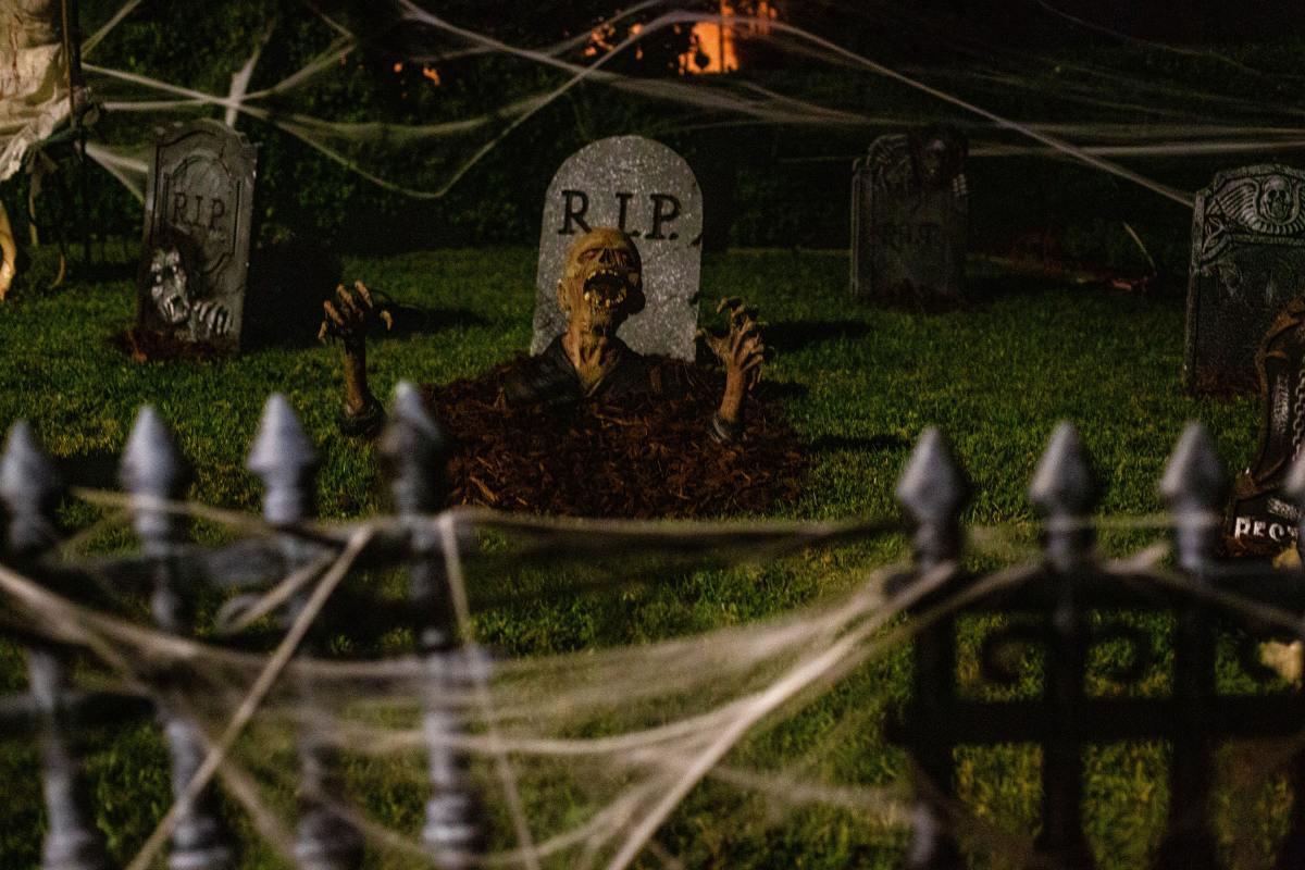 Wishing you a ghoulish Halloween...