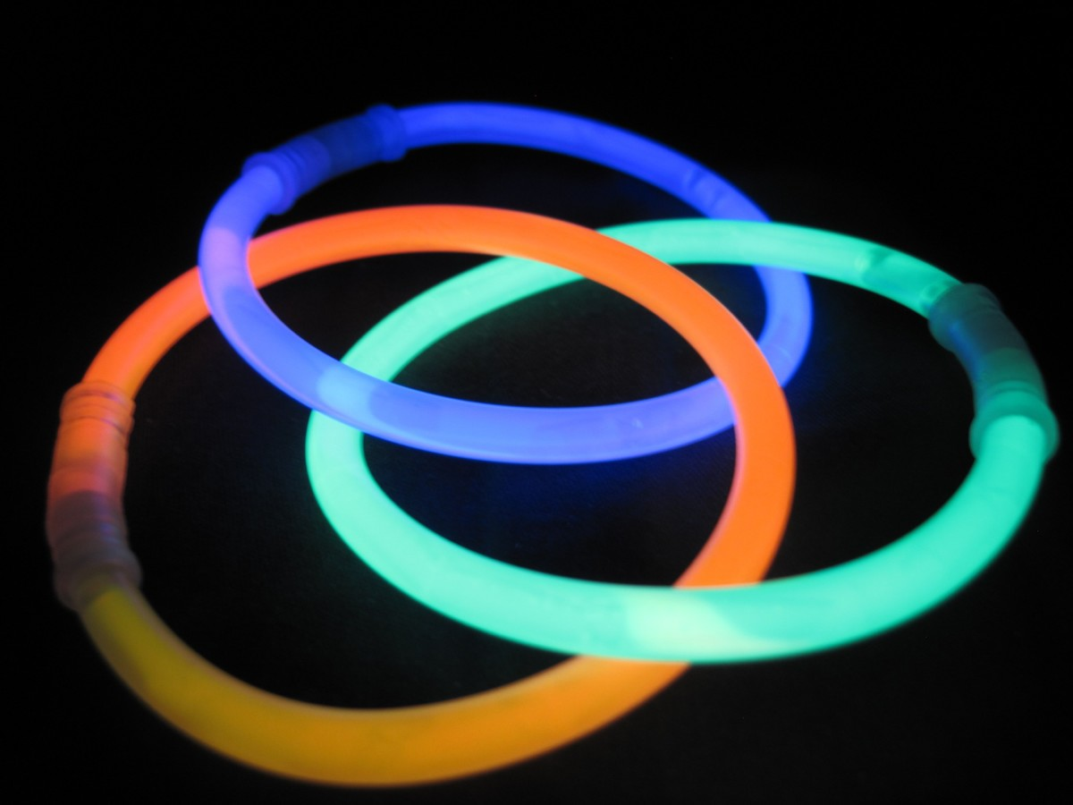 Glow sticks are fun, and they can help kids stand out to passing traffic at nighttime.