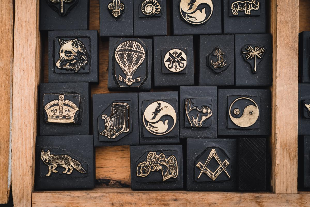 Themed craft stamps are fun because they encourage kids to get creative when they get back home.