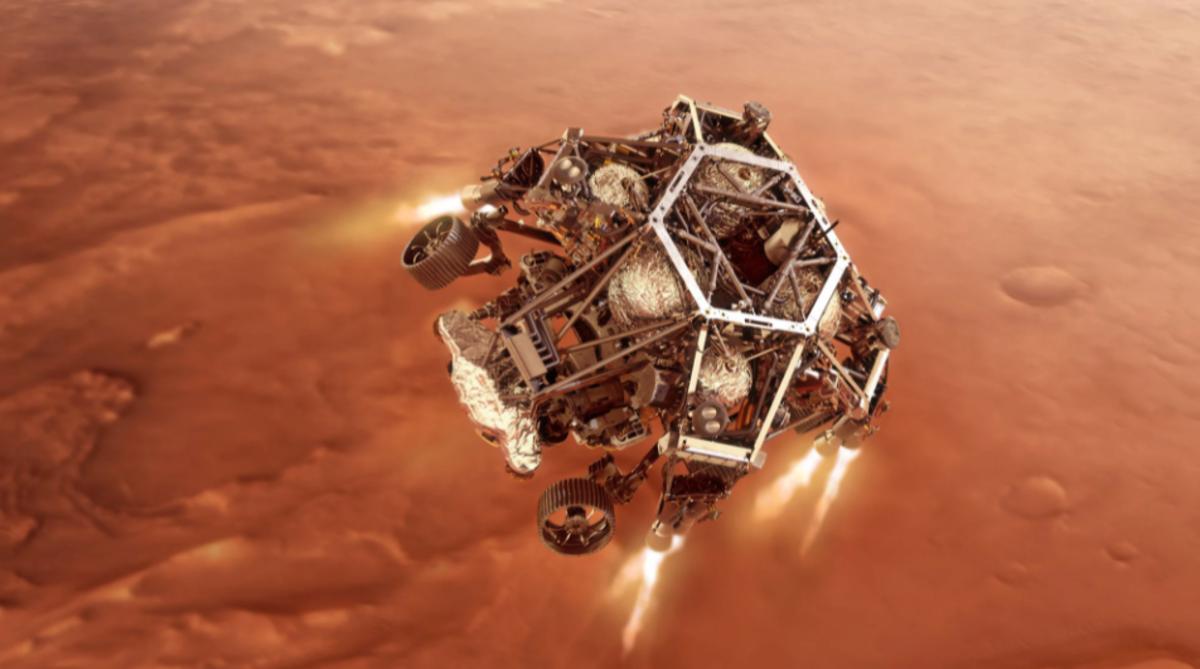 NASA; MARS rover