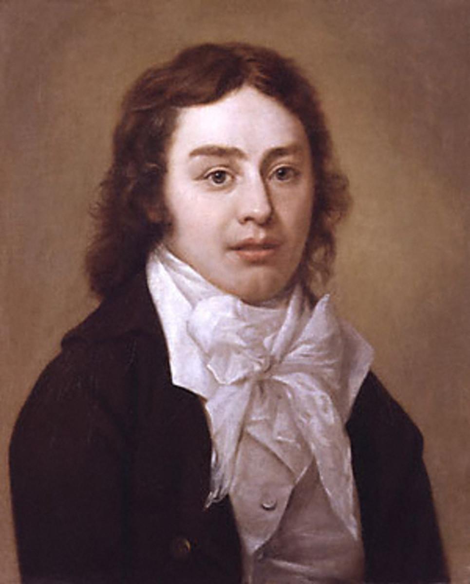 Samuel Taylor Coleridge by Peter Vandyke, 1795