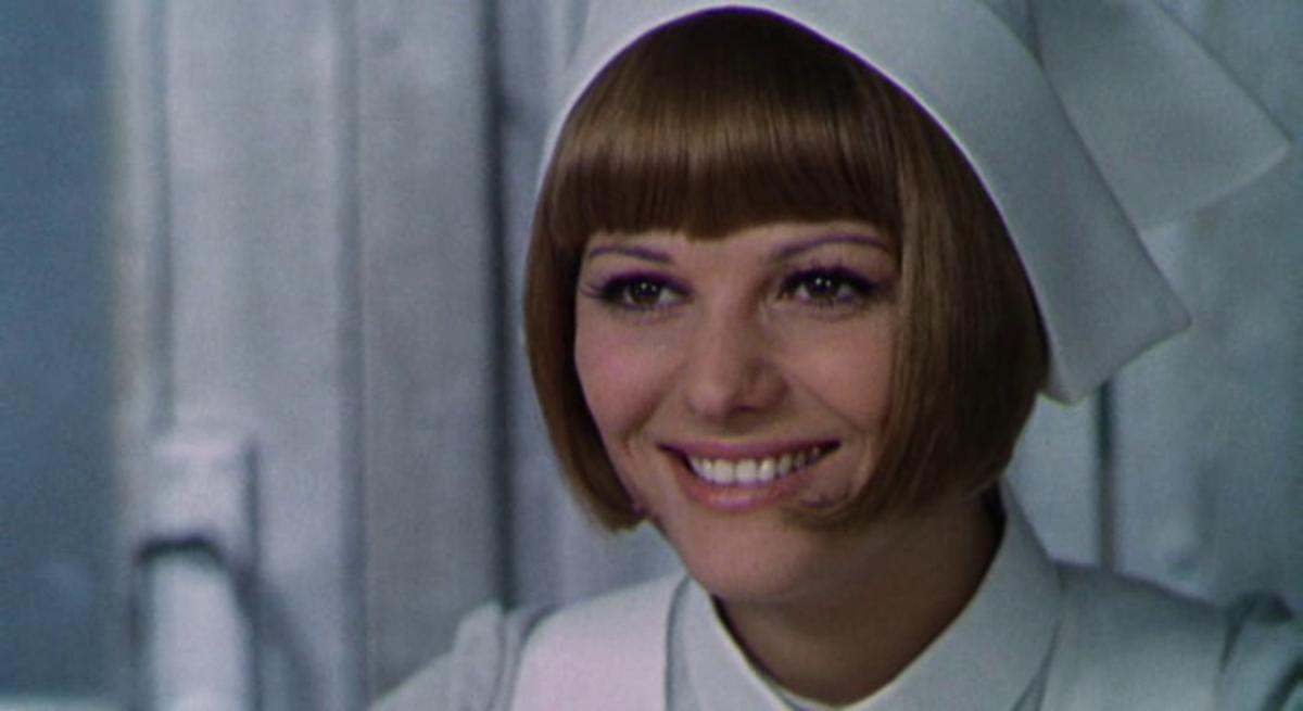 Claudia Cardinale as Valeria. Screenshot from the movie