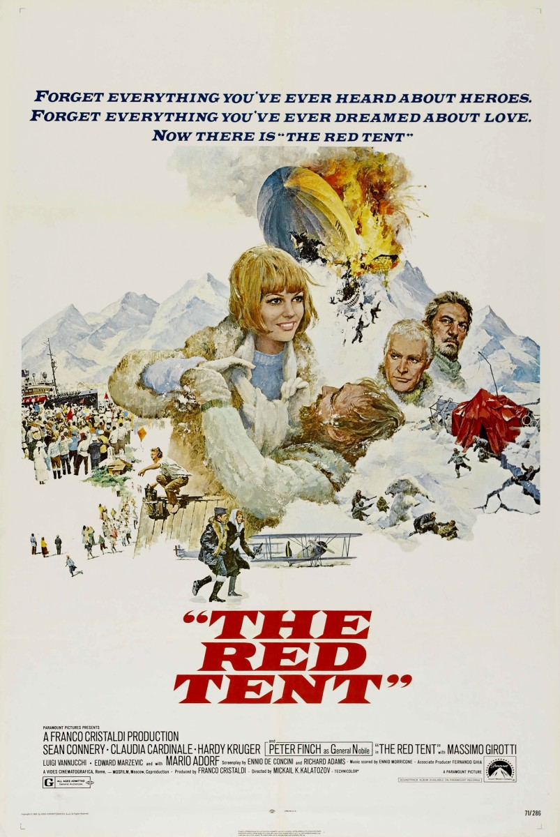 The Red Tent (1969) movie poster