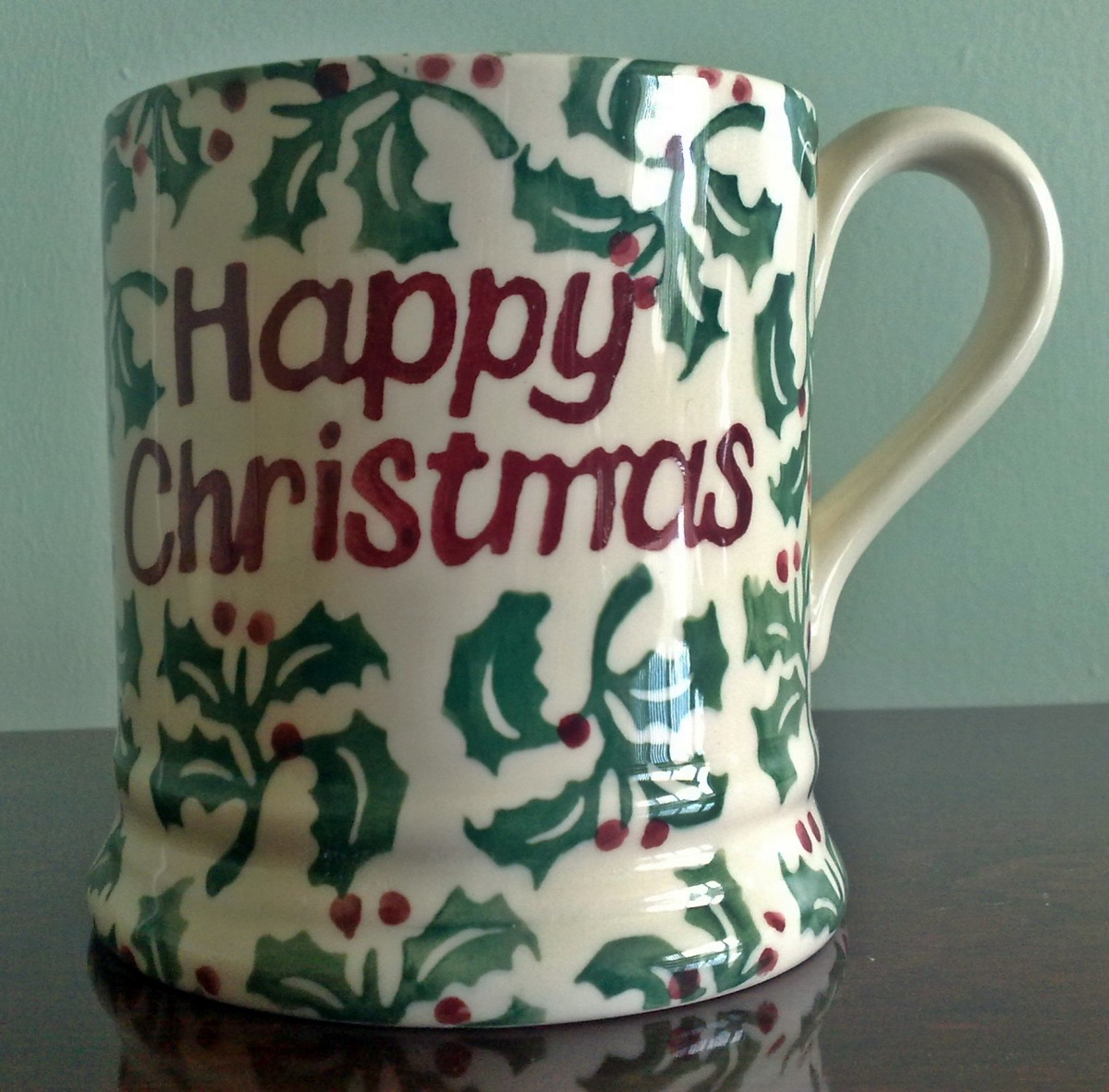 An Emma Bridgewater spongeware mug bought last week at a car boot sale for 75p, sold on eBay for GBP 21
