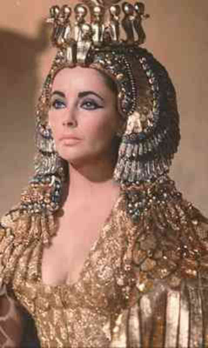 Egyptian women probably looked like this!