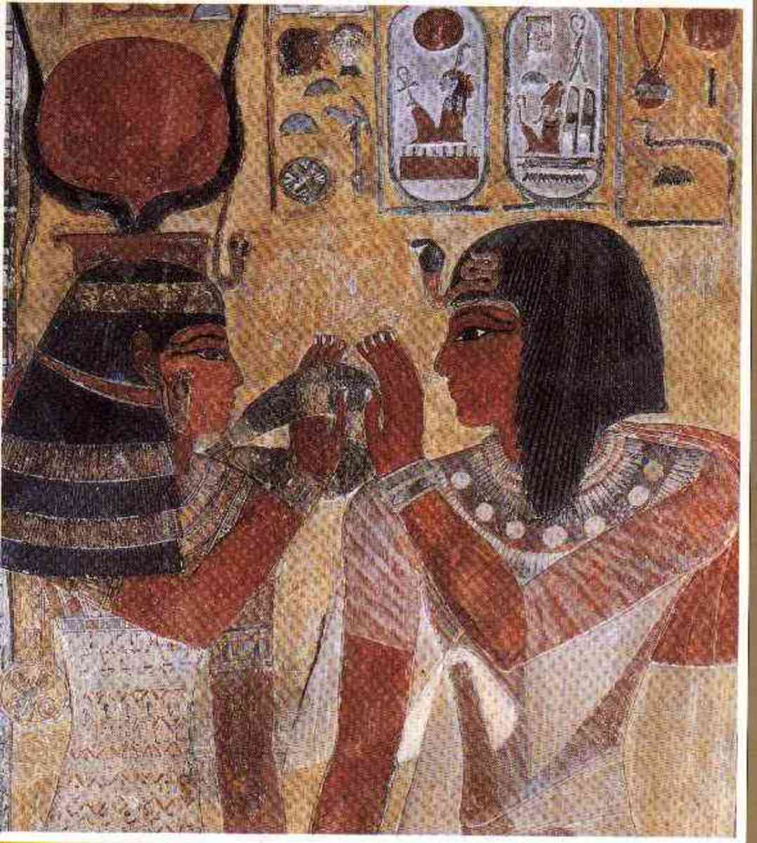 The egyptians were using make up as early as 4000BC!