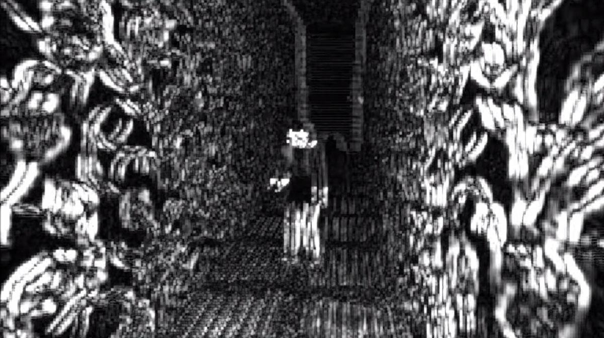 """A snapshot of the game """"Sad Satan"""""""