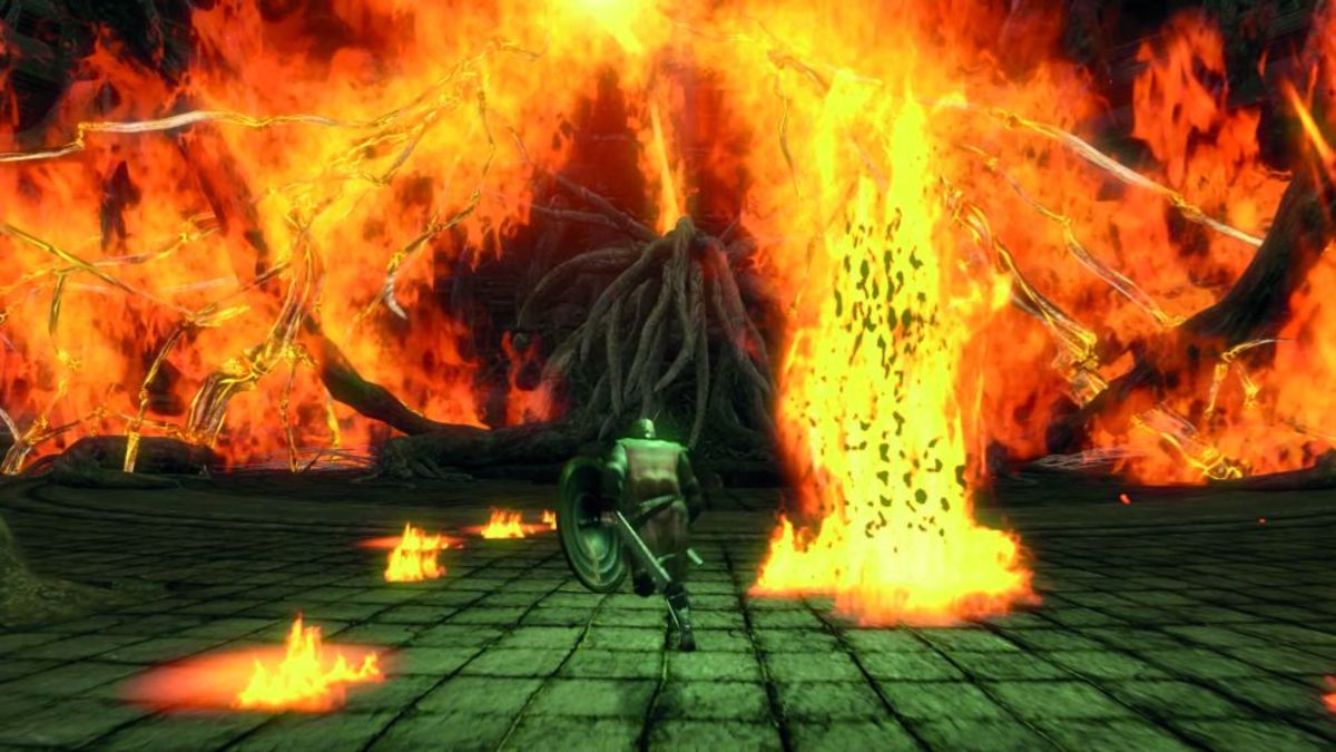From Software's Dark Souls is known for its brutally difficult gameplay