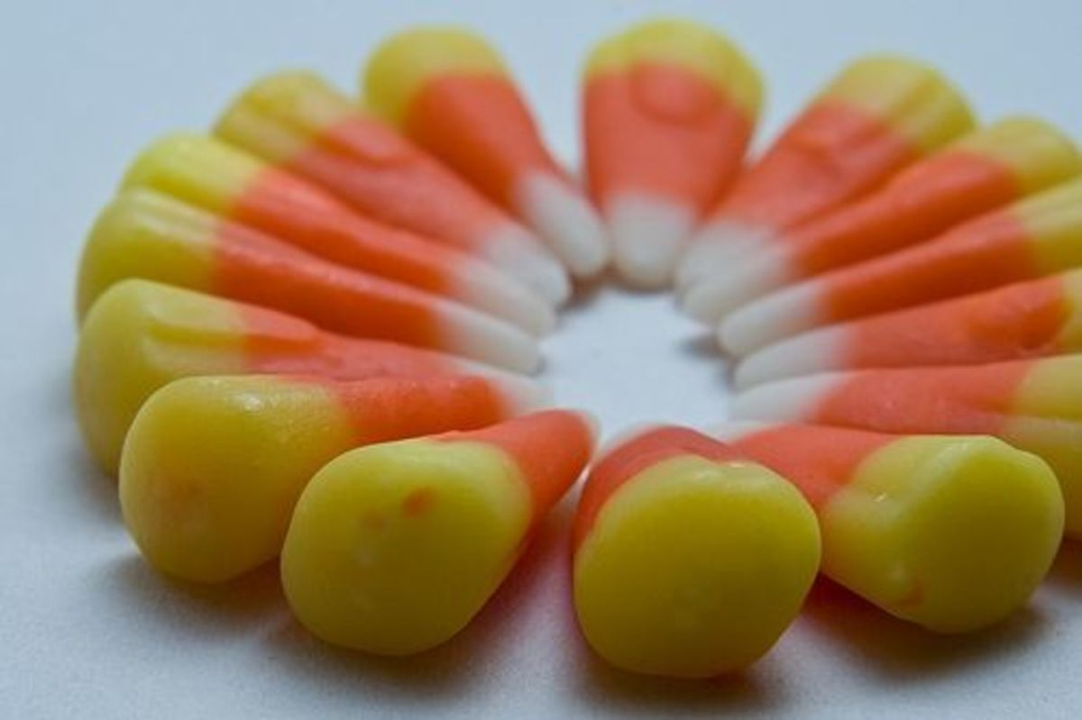 Ring of Candy Corn