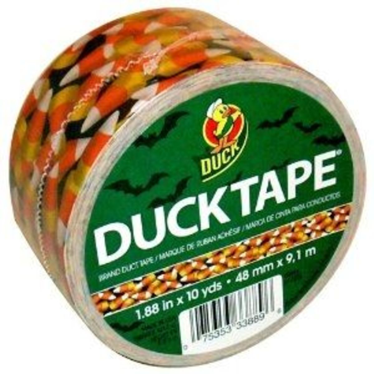 Candy Corn Ducktape