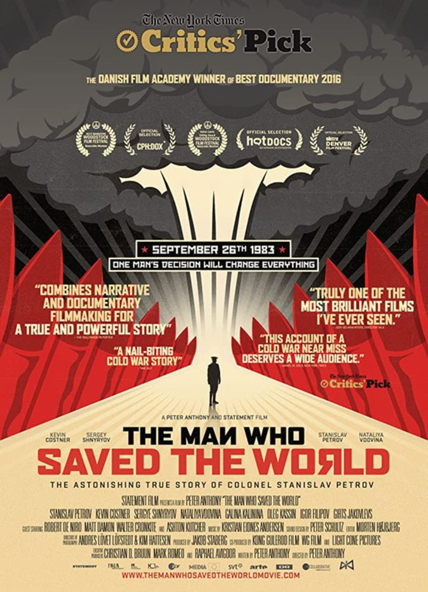 Movie poster for Man Who Saved the World