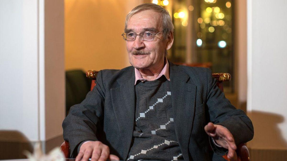 Stanislav Petrov after retirement