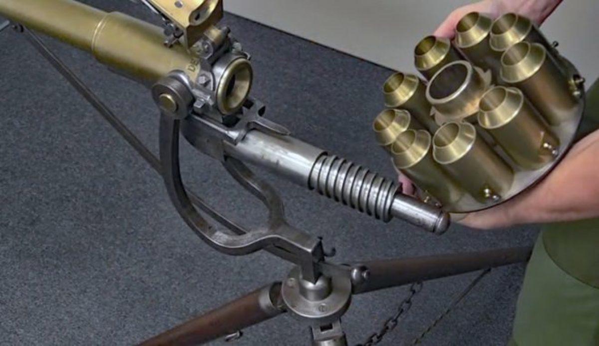 Puckle Gun cylinder
