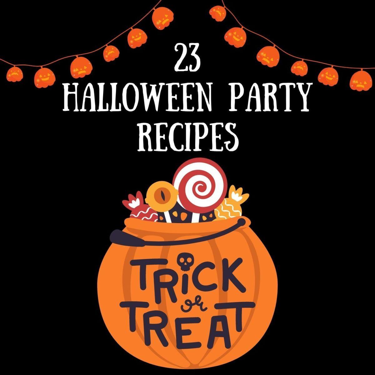 23 Easy Halloween Party Recipe Ideas