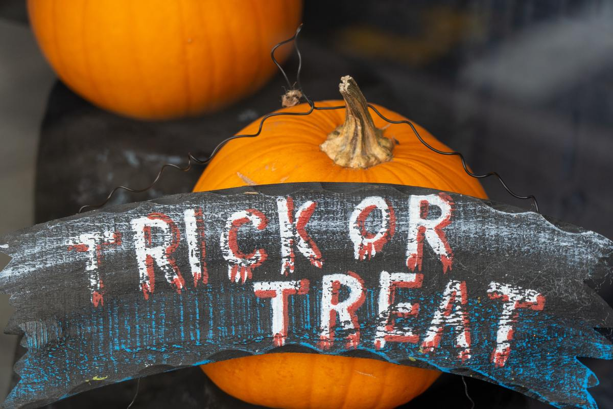 Every kid loves to trick or treat!