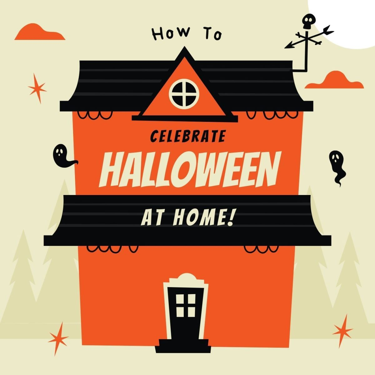 Stuck at home this Halloween? No problem!