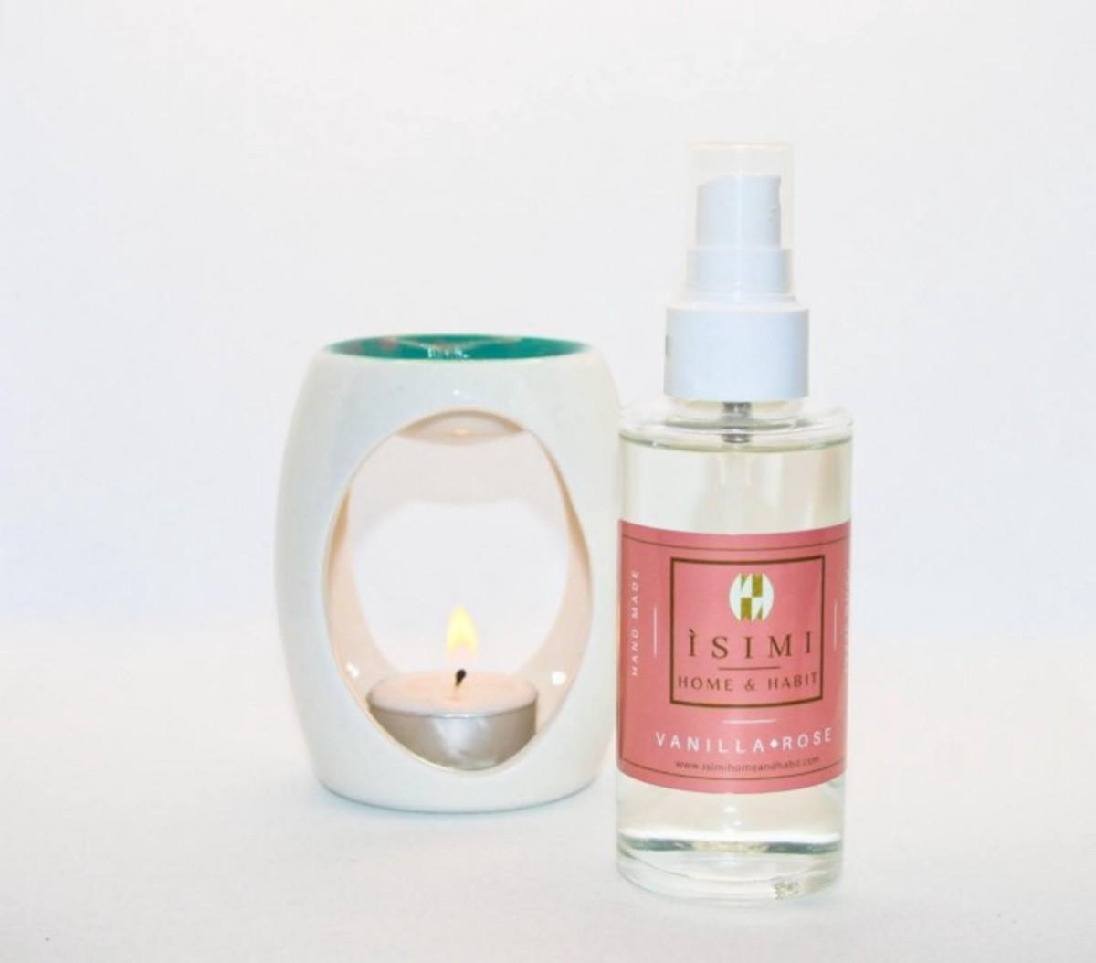 Vanilla Rose Room Spray from ÌSIMI Home and Habit