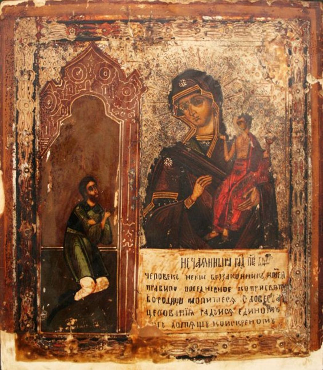 How I Started Communicating With the Sacred Icons of the Blessed Virgin Mary?