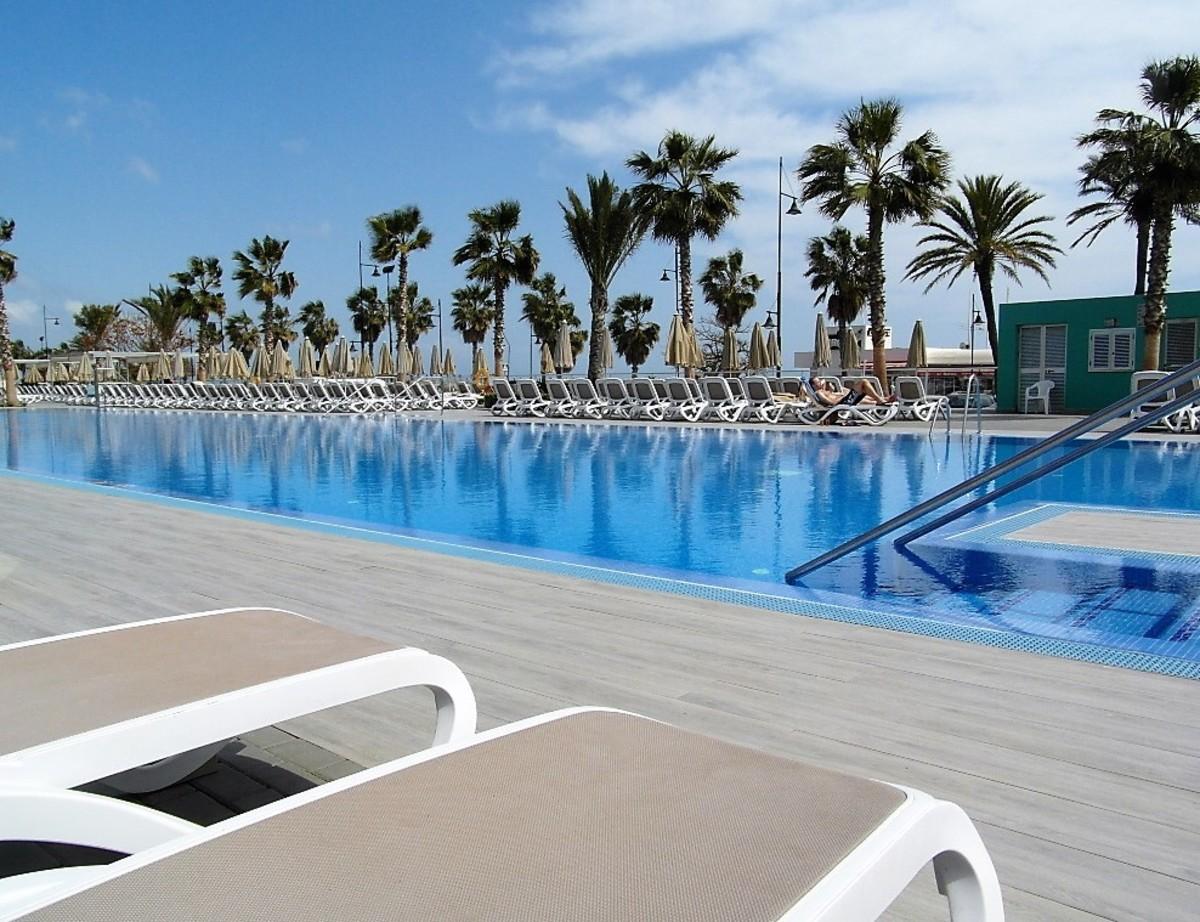 Grab a sun lounger at ClubHotel Riu Costa del Sol.