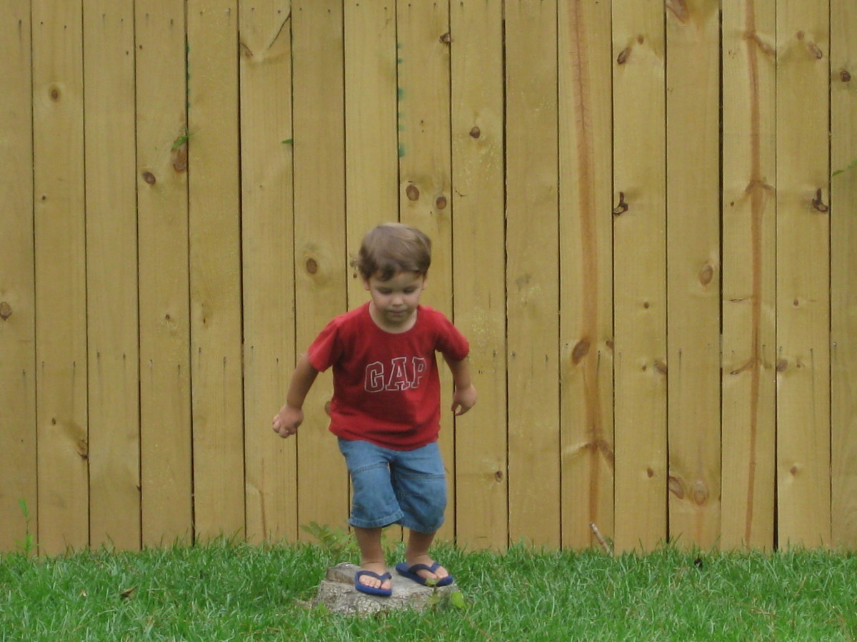 Don't use herbicides on your lawn where kids will play.
