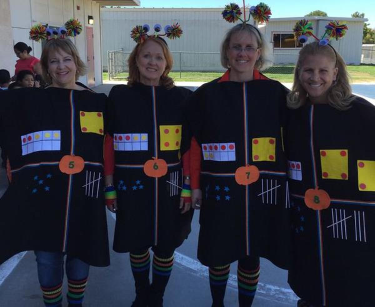 Math Teachers Halloween Costume