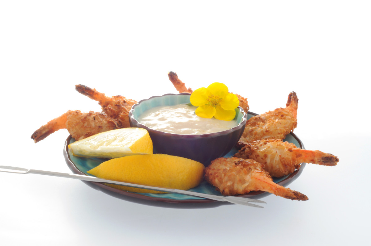 Enjoy lots of fresh seafood on the island!