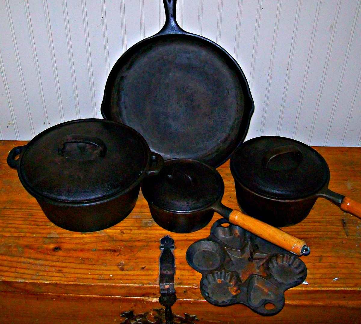 The Joy of Cast Iron Cookware: How to Season, Rehabilitate, and Care for Cast Iron Cookware
