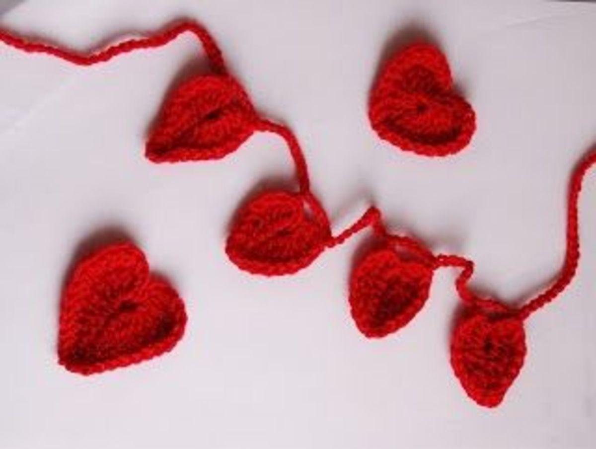 crochet hearts-valentines crochet