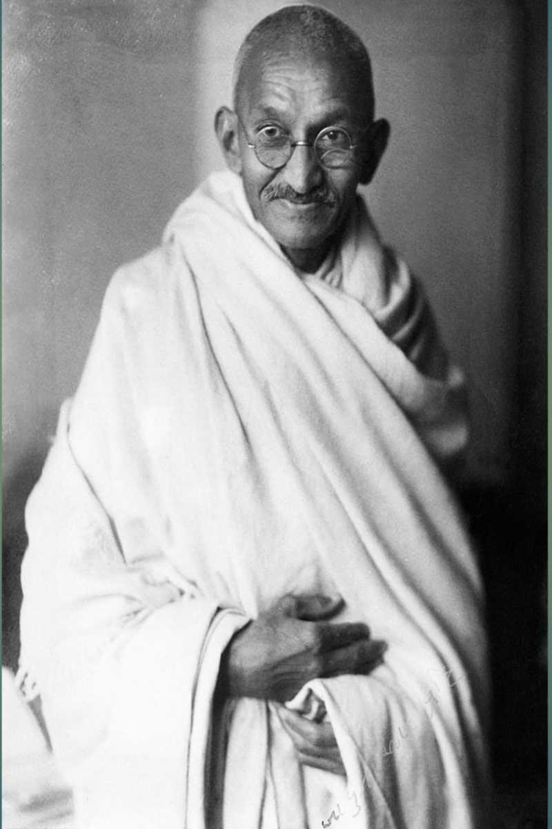 The greatest personality of India is Mahatma Gandhi who is struggled his whole life for truth and non-violence.