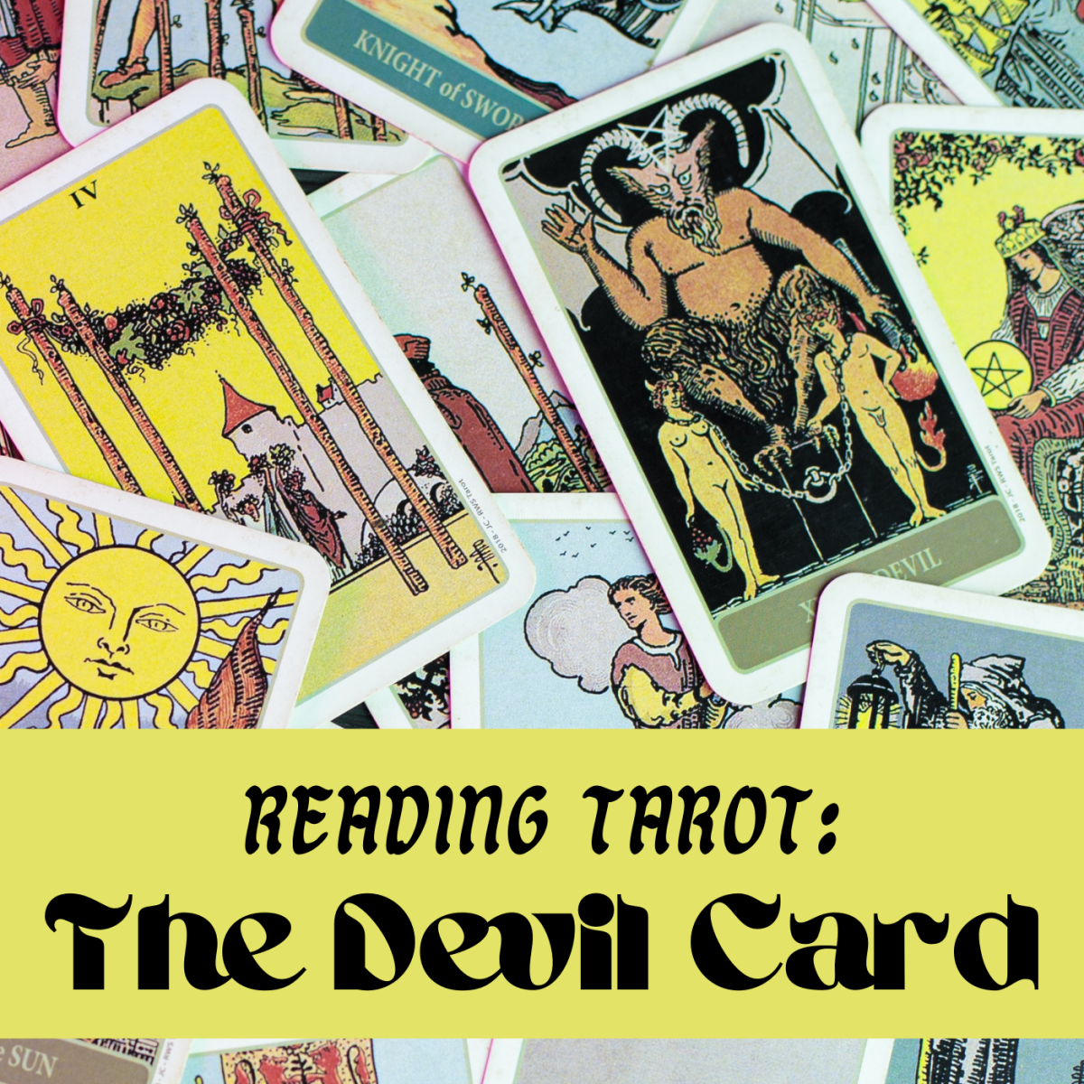 The Devil card in the Tarot gives people the creeps, but it could indicate some positive qualities about you. Don't let the card scare you.