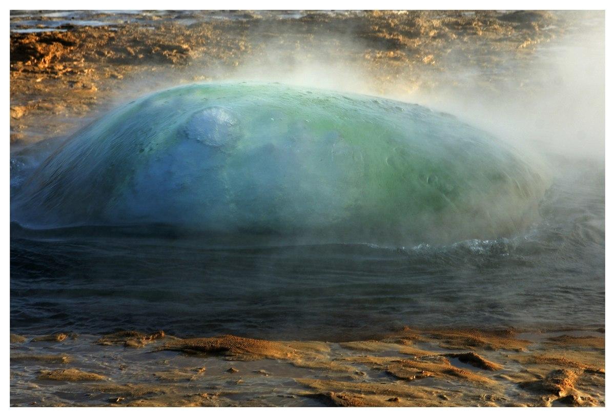 Geyser Bubbles