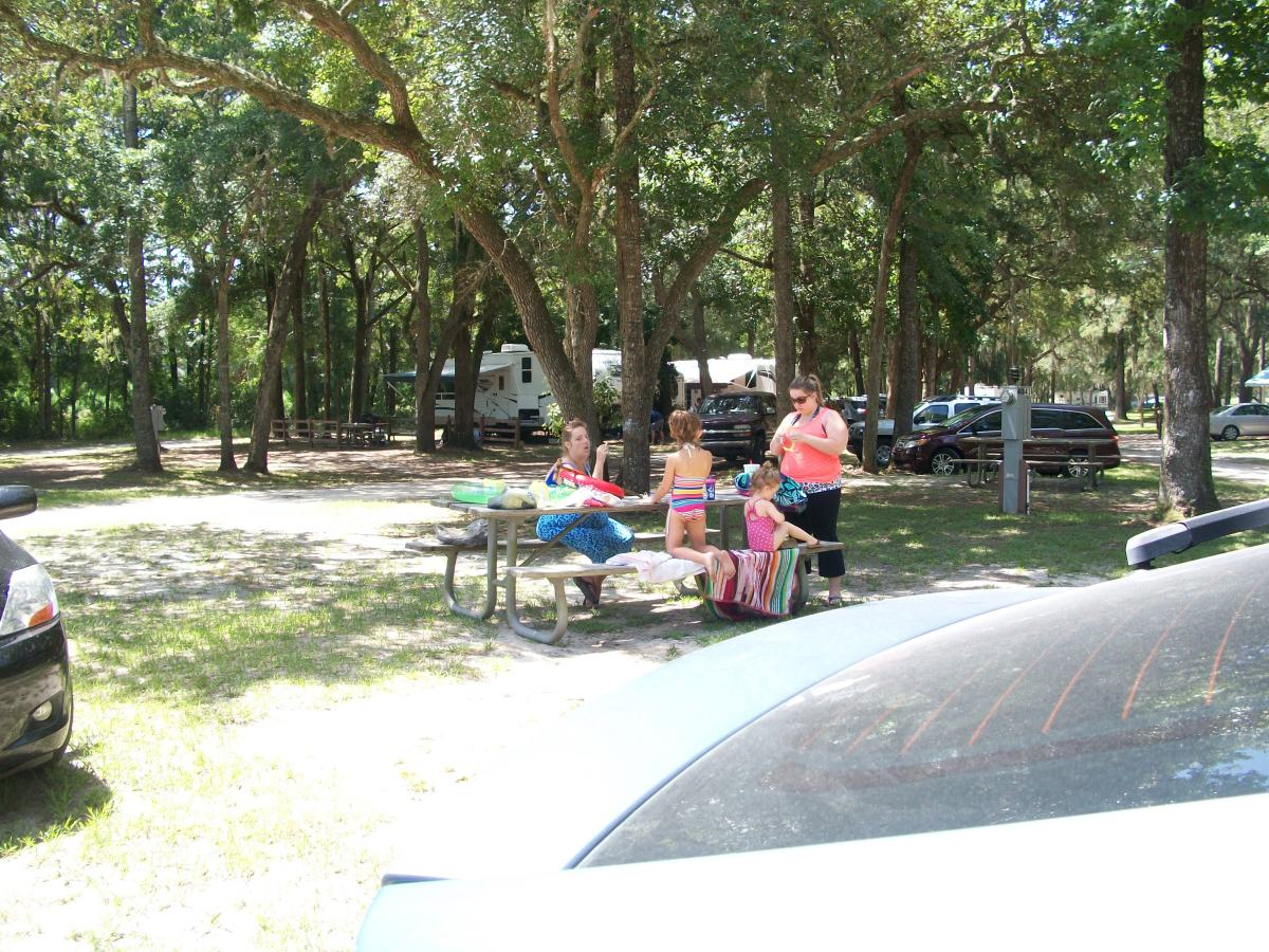 Kids enjoy a day at camp.