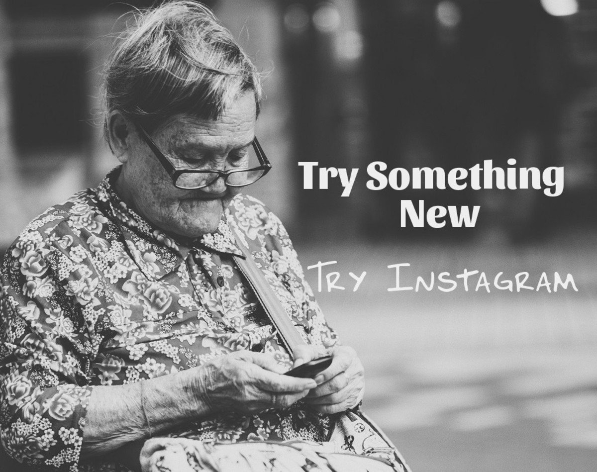 Beat boredom with something new. Try Instagram.