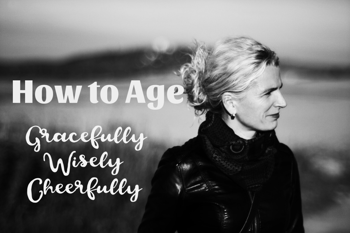 Aging gracefully is supported by virtues like gratitude, contentment and joy.